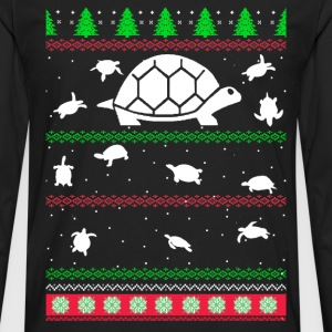 Awesome christmas sweater for turtle lovers - Men's Premium Long Sleeve T-Shirt