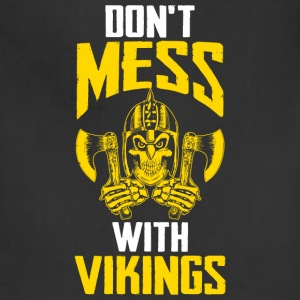 Viking - Don't mess with vikings - Adjustable Apron