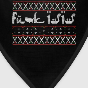 Anti IS - Fuck IS ugly sweater for anti IS - Bandana