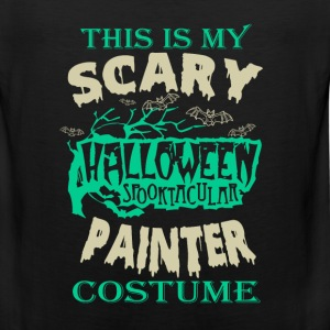 Painter - This is my scary halloween costume tee - Men's Premium Tank