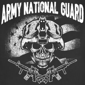 Army national guard - t-shirt for guards support - Adjustable Apron