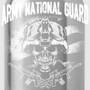 Army national guard - t-shirt for guards support - Water Bottle