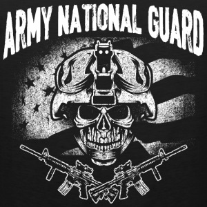 Army national guard - t-shirt for guards support - Men's Premium Tank