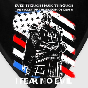 Cusader - I fear no evil t-shirt for american - Bandana