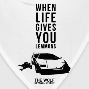 The wolf of wall street - Awesome t-shirt for fa - Bandana
