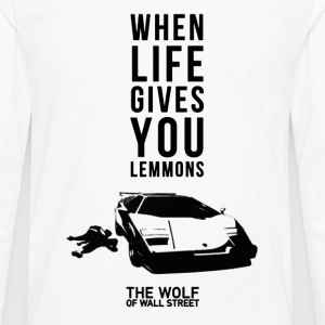 The wolf of wall street - Awesome t-shirt for fa - Men's Premium Long Sleeve T-Shirt