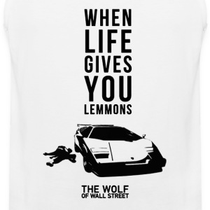 The wolf of wall street - Awesome t-shirt for fa - Men's Premium Tank