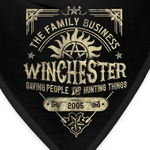 Winchester - Saving people and hunting things tee - Bandana
