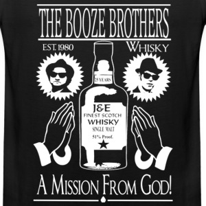 Whiskey - The booze brothers est 1980 t-shirt - Men's Premium Tank