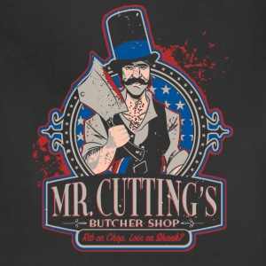 Butcher - Mr.cutting's butcher shop t-shirt - Adjustable Apron