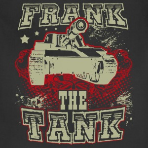 Tank - Frank the tank awesome t-shirt for fans - Adjustable Apron