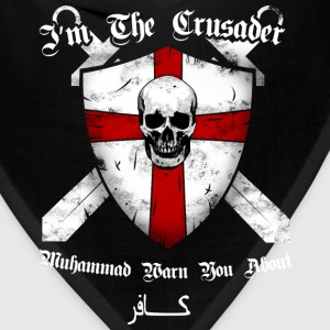 Crusader - I'm the crusader muhammad warn you - Bandana