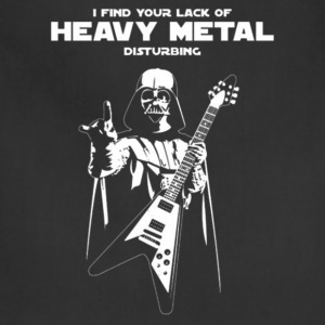 Heavy metal - I find you're lack of heavy metal - Adjustable Apron