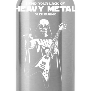 Heavy metal - I find you're lack of heavy metal - Water Bottle