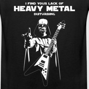 Heavy metal - I find you're lack of heavy metal - Men's Premium Tank