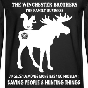 Hunting - The Winchester brothers hunting things - Men's Long Sleeve T-Shirt