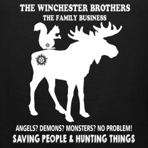 Hunting - The Winchester brothers hunting things - Men's Premium Tank