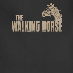 The walking horse - Funny t-shirt - Adjustable Apron