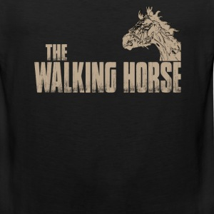 The walking horse - Funny t-shirt - Men's Premium Tank