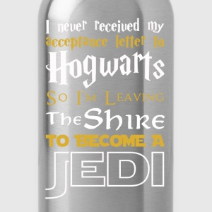I'm leaving the Shire to become a Jedi - Water Bottle