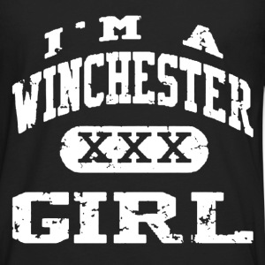 Winchester - I'm a Winchester girl Supernatural - Men's Premium Long Sleeve T-Shirt