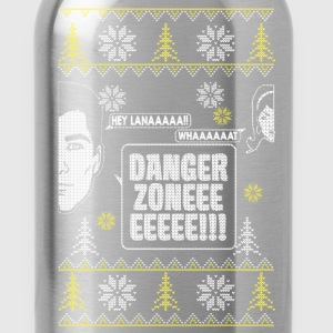 Danger zone with girlfriend - Christmas gift - Water Bottle