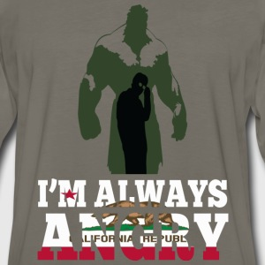 California republic - I'm always angry - Men's Premium Long Sleeve T-Shirt