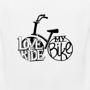 Bicycle - I'd love to ride my bike - Men's Premium Tank