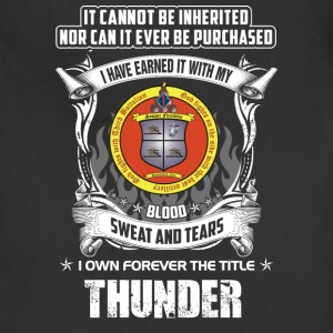 Thunder - Cannot be inherited nor be purchased - Adjustable Apron