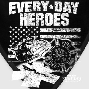 Fire department - Everyday heroes - Bandana