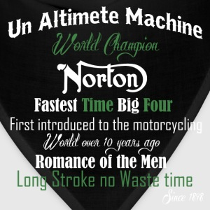 Norton bikers - Fastest time big four - Bandana