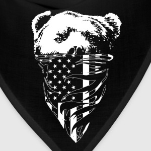 California republic bear t-shirt - Bandana