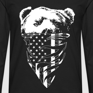California republic bear t-shirt - Men's Premium Long Sleeve T-Shirt