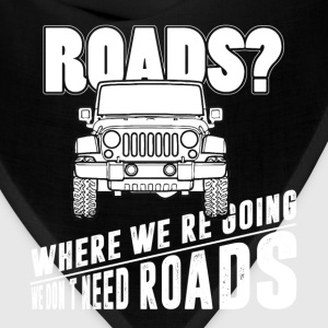 Jeep - We don't need roads - Bandana