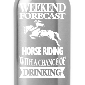 Horseman - Horse riding with a chance of drinking - Water Bottle