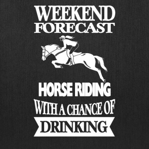 Horseman - Horse riding with a chance of drinking - Tote Bag