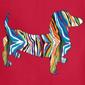 Pyschedelic Dachshund - Adjustable Apron