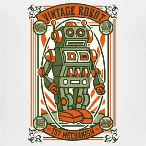 Vintage Toy Robot Kids' Shirts - Toddler Premium T-Shirt
