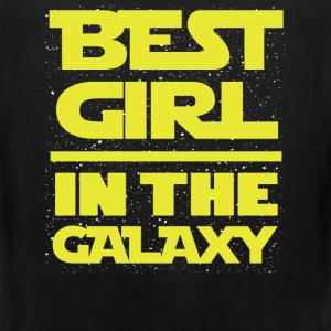 This is the best girl in the galaxy t-shi - Men's Premium Tank