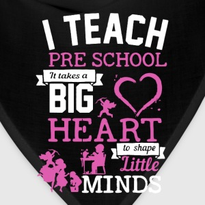 Teach Pre School Shirt - Bandana