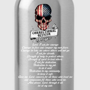 Correctional officer - The prayer of officer tee - Water Bottle