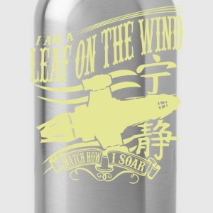 Serenity - I am a leaf on the wind awesome t-shi - Water Bottle