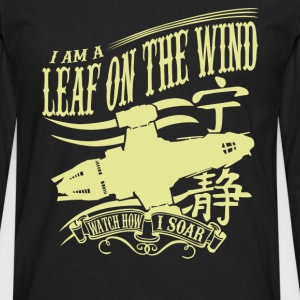 Serenity - I am a leaf on the wind awesome t-shi - Men's Premium Long Sleeve T-Shirt