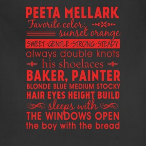 Peeta Mellark - Awesome t-shirt for peeta's fans - Adjustable Apron