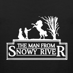 Man From Snowy River - Men's Premium Tank