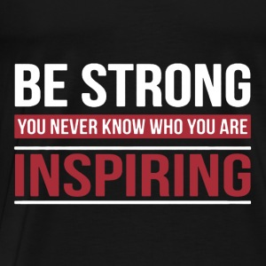 Strong Inspiring Teacher - Men's Premium T-Shirt