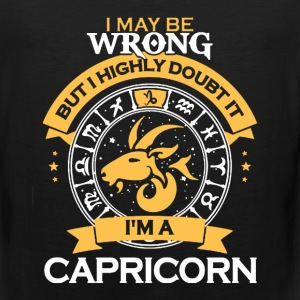 Capricorn Shirt - Men's Premium Tank