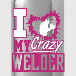 Crazy Welder Shirt - Water Bottle