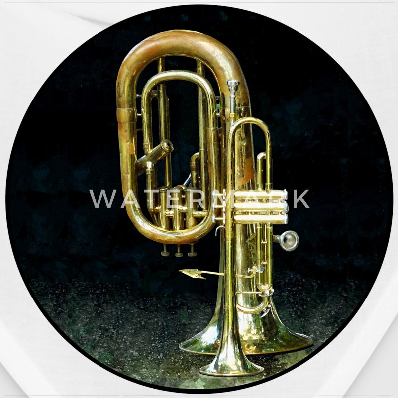 Trumpet and Tuba Caps - Bandana