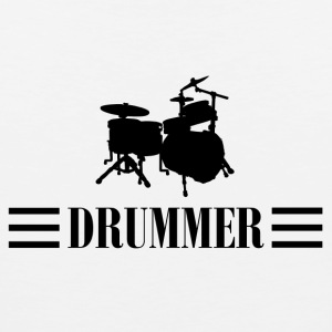 drummer black - Men's Premium Tank